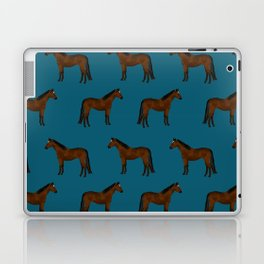 Bay Horse breed farm animal pet pattern horses Laptop & iPad Skin