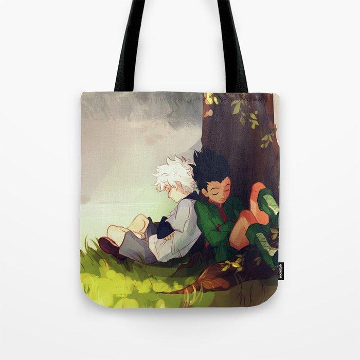 Gon And Killua Tote Bag By Viria Society6