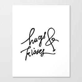 Hugs & Kisses Canvas Print