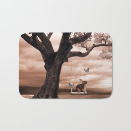 Woodland swing Bath Mat