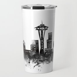 Seattle Skyline Travel Mug