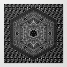 August Mandala 2018 Canvas Print