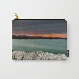 Sunset on the riverside Carry-All Pouch