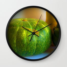 Bright Kobocha Wall Clock