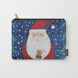 Santa with Stocking Carry-All Pouch