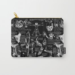 Da Vinci's Anatomy Sketchbook Carry-All Pouch