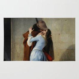 Francesco Hayez - The Kiss Rug
