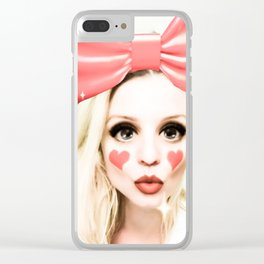 Doll Parts Clear iPhone Case