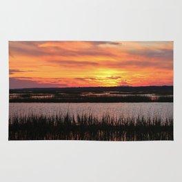 Sky Over The Marsh Rug