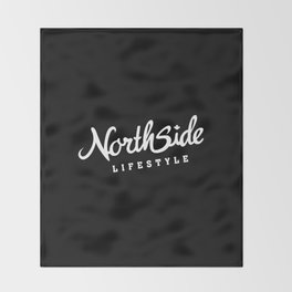 North Side Lifestyle Signature (white) Throw Blanket