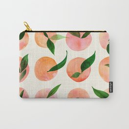 Abstract Orchard / Watercolor Fruit Carry-All Pouch