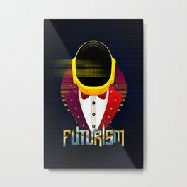 Punk Futurism Metal Print