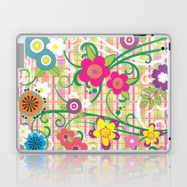 Floral Delight Laptop & iPad Skin