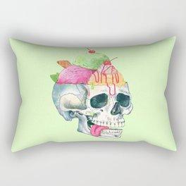 brain freeze Rectangular Pillow