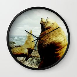 Sea Lion II Wall Clock