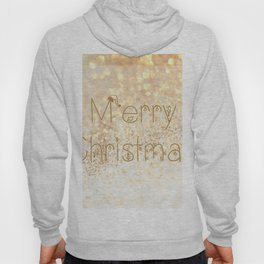 Christmas, rose gold glitter - Macro Photography #Society6 Hoody