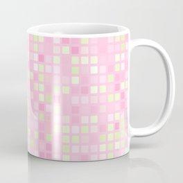 Abstract pink mosaic pattern Coffee Mug