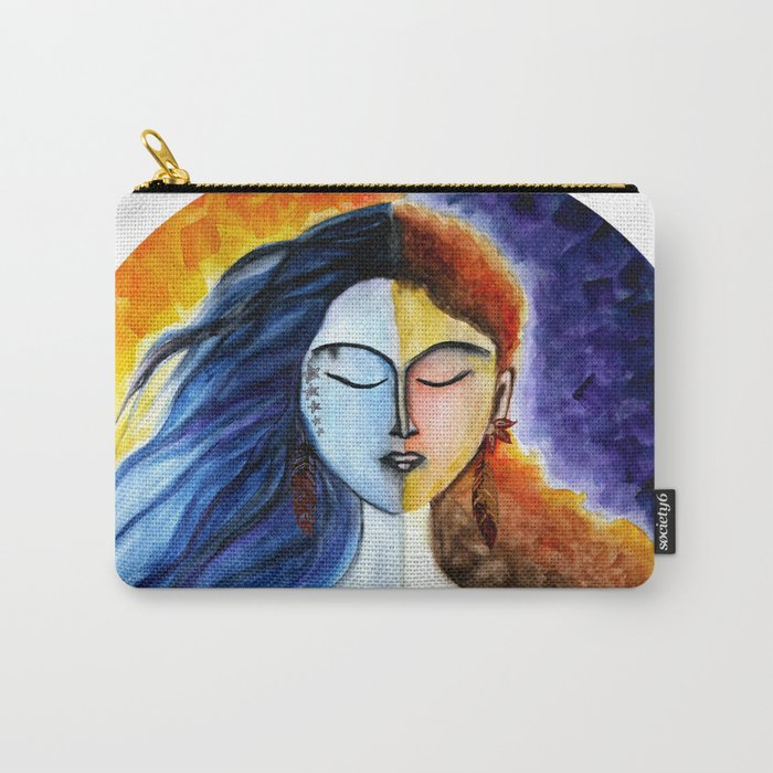 YinYang Carry-All Pouch