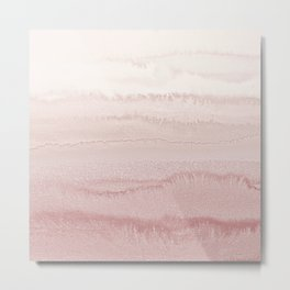 WITHIN THE TIDES - BALLERINA BLUSH Metal Print