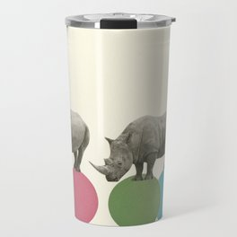 Rambling Rhinos Travel Mug