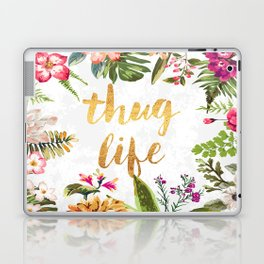 Thug Life - white version Laptop & iPad Skin