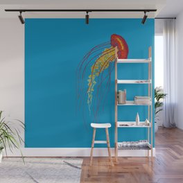 Stitches: Jellyfish Wall Mural