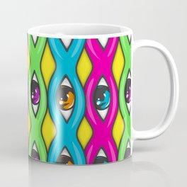 Psychedelic Trippy Eye Balls Coffee Mug