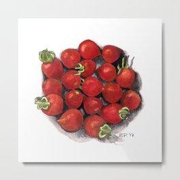 Mini tomatoes Metal Print
