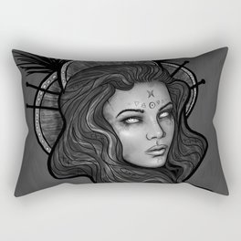 The Night Witch Rectangular Pillow