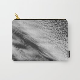 Cloud 01 (B&W) Carry-All Pouch