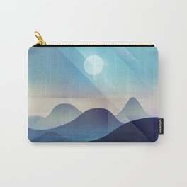 Northern Lights Abstract Carry-All Pouch