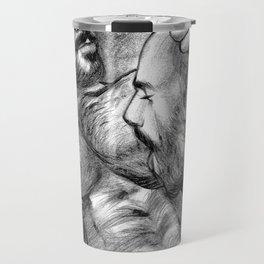 Exploration of Desire (Portrait of Rogan Richards) Travel Mug