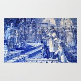 Portuguese Historical Art. Rug