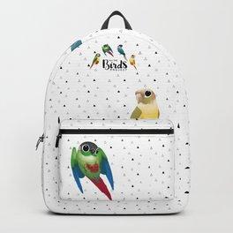 Green cheek conures Backpack