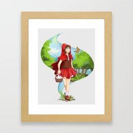 RedWonder Framed Art Print