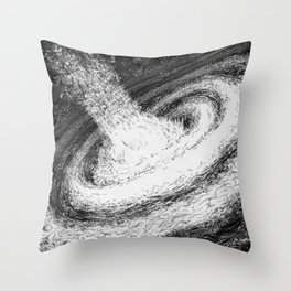 Galaxy Particles Infinite Throw Pillow