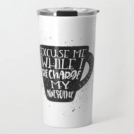 recharge awesome Travel Mug