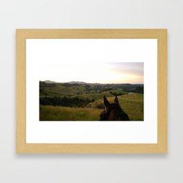 Horse Adventures Framed Art Print