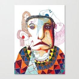 sad man Canvas Print