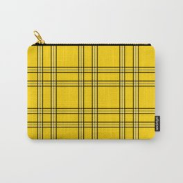 Clueless Plaid Carry-All Pouch