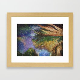 Small World I Framed Art Print