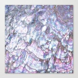 Mermaid Shell Beautiful Pearly Surface #decor #society6 #buyart Canvas Print