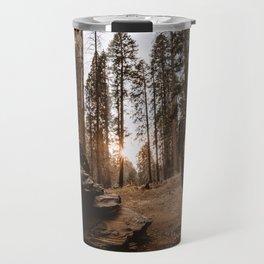 Light Between Fallen Sequoias Travel Mug