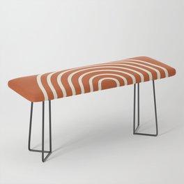 Terracota Bench