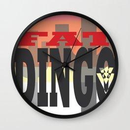 Fat Dingo Wall Clock