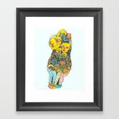Kalli's Feet Framed Art Print