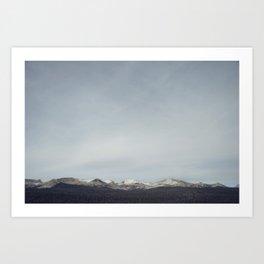 Yosemite Sky Art Print