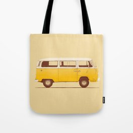 Van - Yellow Tote Bag