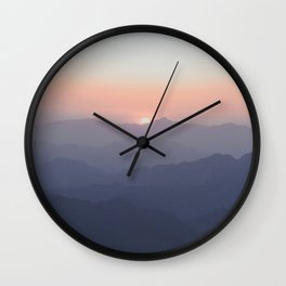 The Great Wall of China III Wall Clock