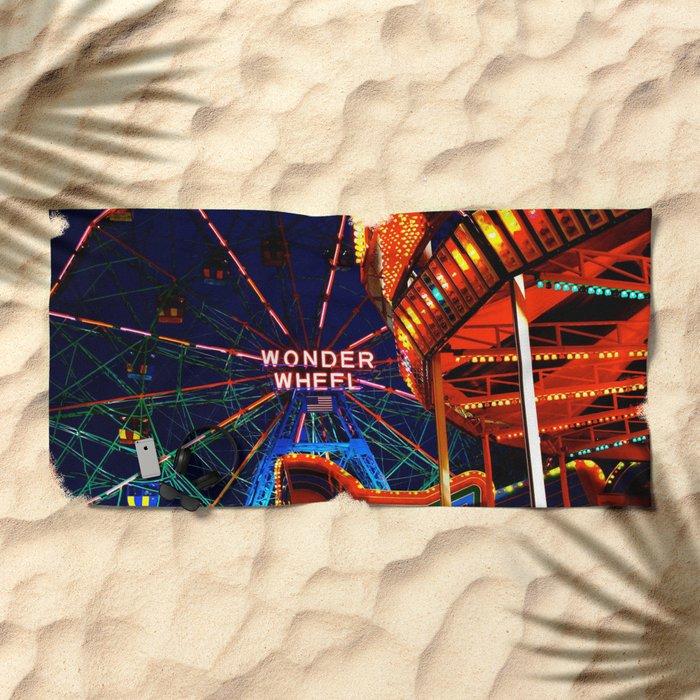 Coney Island, Baby Beach Towel